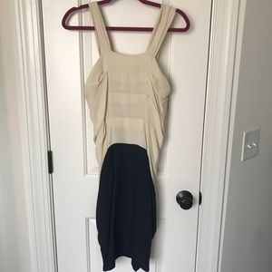 3.1 Phillip Lim Draped Silk Tank Dress